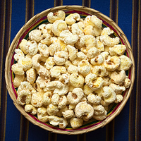 Sweetened Popped White Corn