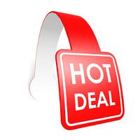 Hot deal hang label