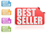 Best seller label set