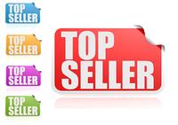 Top seller label set