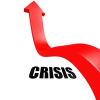 Arrow leap over crisis
