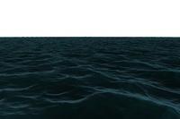 Digitally generated Still blue sea