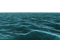 Digitally generated still Blue ocean