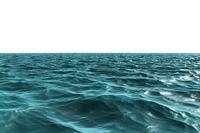 Digitally generated light Blue ocean