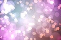 Light glowing dots on purple