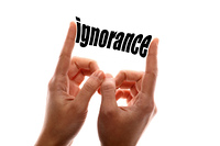 Smaller ignorance