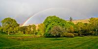 Regenbogen beim Glengarry Castle