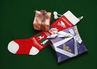 プレゼントと靴下