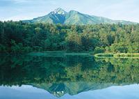 利尻山と姫沼