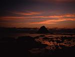 夕暮れの無縁島