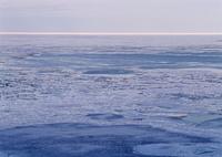 能取湖の流氷
