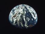 地球(NASA提供)