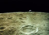 月面(NASA提供)