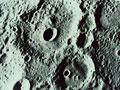 水星の地表(NASA提供)