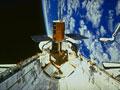 チャレンジャー号のカーゴベイ(NASA提供)