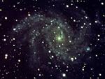 渦状銀河(NASA提供)