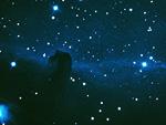 オリオン座の馬頭星雲(NASA提供)