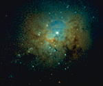 星団(NASA提供)