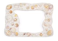 貝殻のフレーム