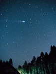 百武彗星と北斗七星
