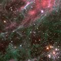 タランチュラ星雲(NASA提供)