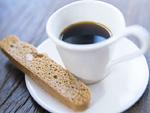 コーヒーとビスコッティー