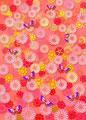 タイトル:菊に蝶